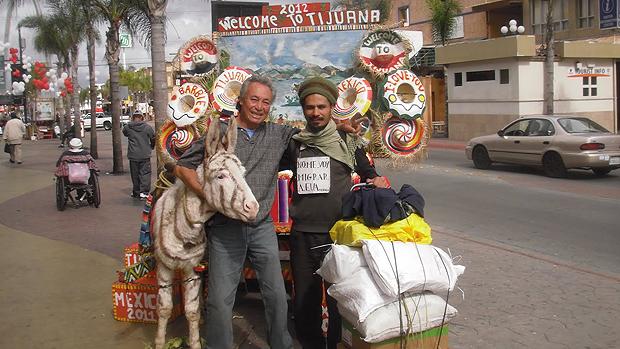 O artista plástico Paulo Nazareth em viagem do projeto Notícias da América