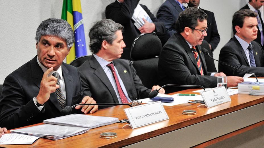 Ex-diretor da Dersa, Paulo Vieira de Souza depõe na CPI do Cachoeira