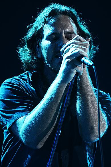 Pearl Jam encerra o festival Lollapalooza, em São Paulo
