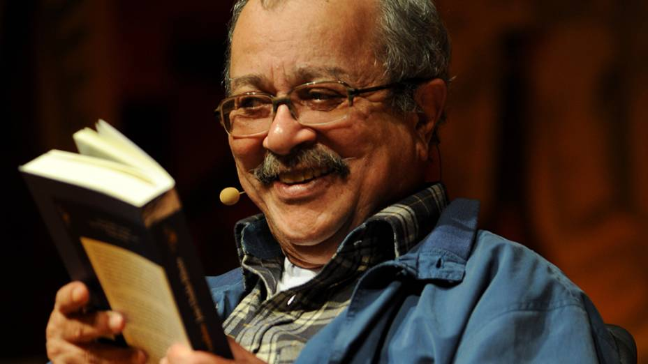 O Escritor, jornalista e membro da Academia Brasileira de Letras, Joao Ubaldo Ribeiro, durante 9ª Festa Literária Internacional de Paraty, em 2011