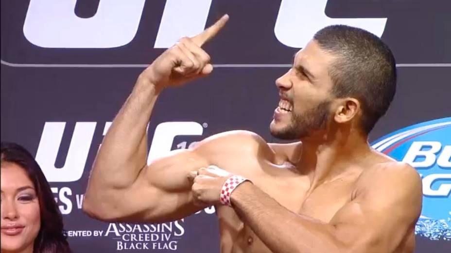 Pesagem do UFC 165, em Toronto:Renée Forte