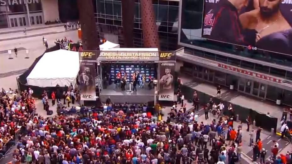 Pesagem do UFC 165, em Toronto
