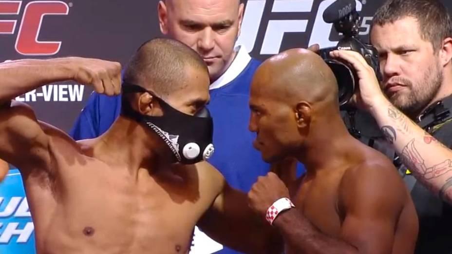 Pesagem do UFC 165, em Toronto: Ivan Menjivar x Wilson Reis