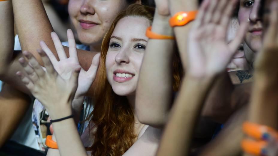 Fãs no show de Phillip Phillips no Rock in Rio 2013