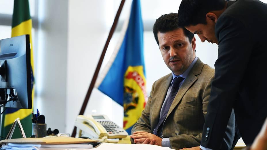 Igor Romário de Paula, chefe da Delegacia de Combate ao Crime Organizado de Curitiba