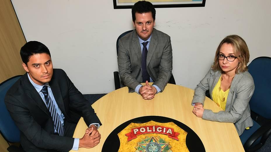 Grupo de elite - delegados Felipe Hayashi, Igor Romário de Paula e Érika Marena investigam a operação Lava Jato