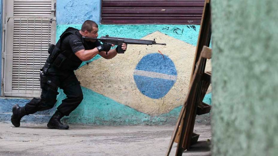 Na quarta-feira, dia 24 de novembro, operação policial na favela Jacarezinho, no Rio de Janeiro