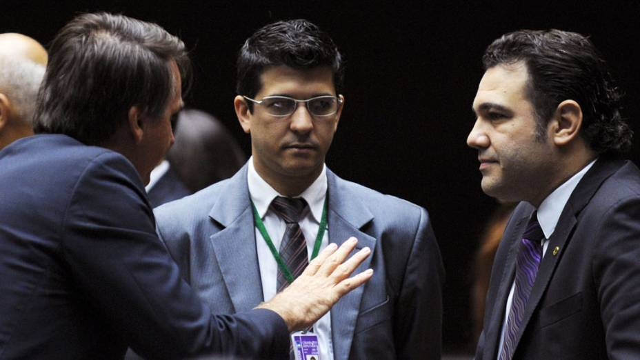 Deputados Jair Bolsonaro e Marco Feliciano