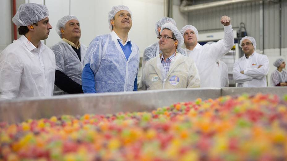 Na manhã desta terça-feira(22), o candidato à Presidência da República, Eduardo Campos, visitou a fábrica da Dori Alimentos, na cidade de Marília, interior de São Paulo