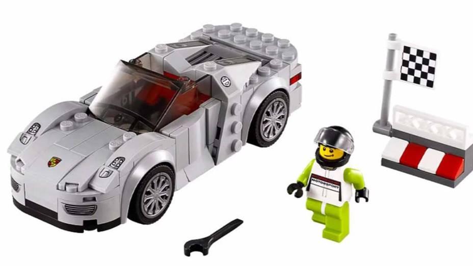 Legos Speed Champions - Porsche 918 Spyder