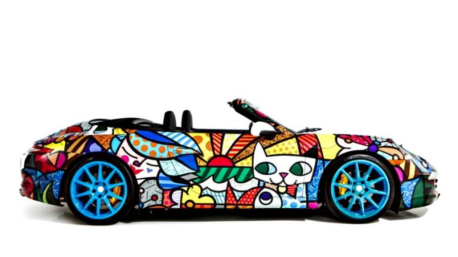 Porsche 911 por Romero Britto