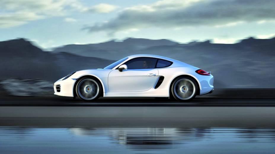 Novo Porsche Cayman 2013