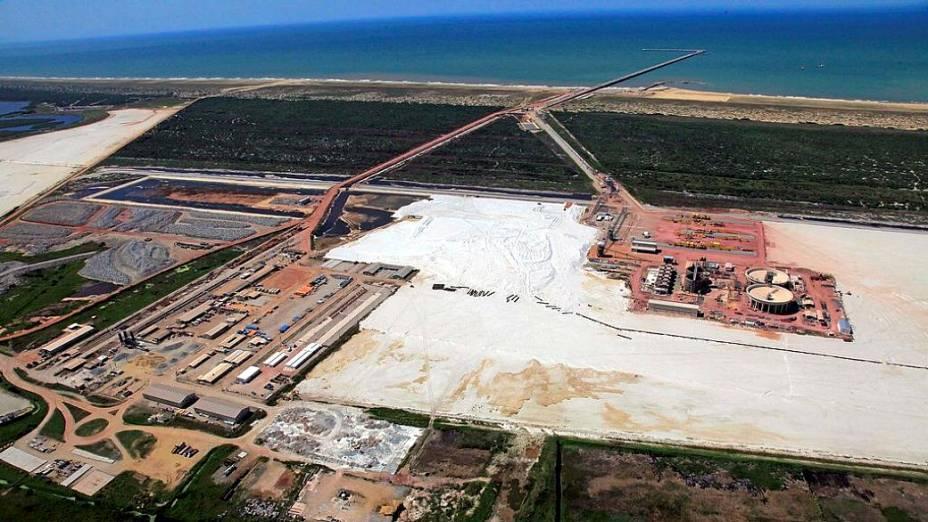 Superporto do Açu deverá movimentar 350 milhões de toneladas por ano