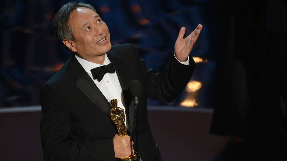 """O cineasta taiwanês Ang Lee ganhou o Oscar de melhor diretor por seu trabalho em """"As Aventuras de Pi"""""""