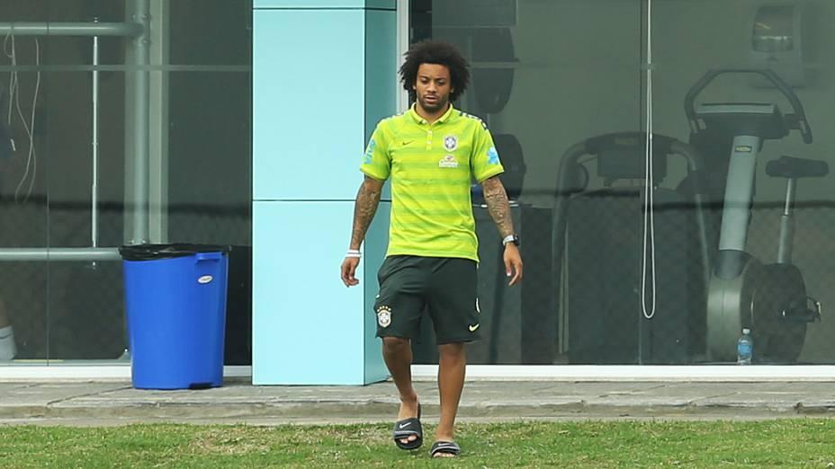 Marcelo chega na Granja Comary nesta terça-feira (27)