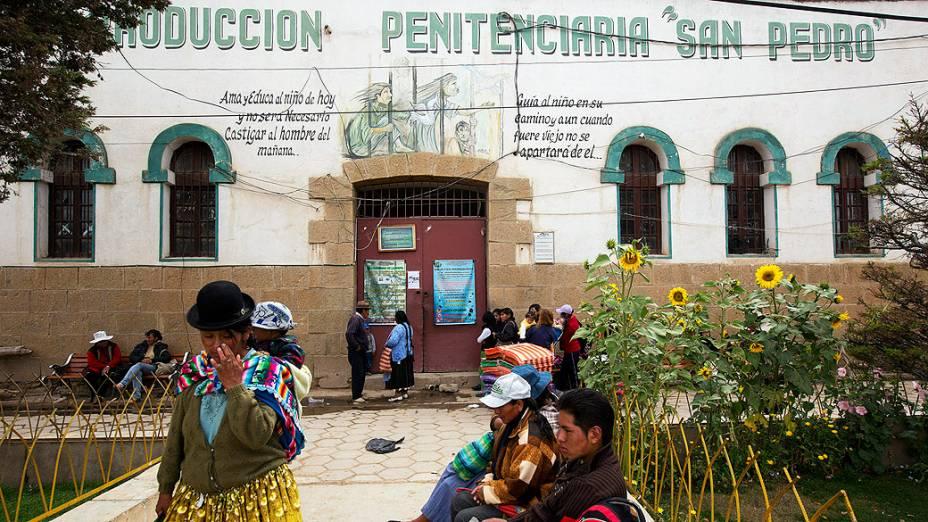 Centro Penitenciário São Pedro em Oruro, na Bolívia