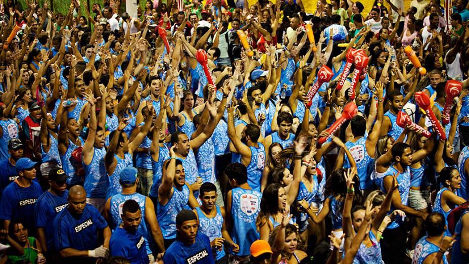 Festa de Carnaval no Circuito Barra-Ondina em Salvador, nesta quinta-feira (27)