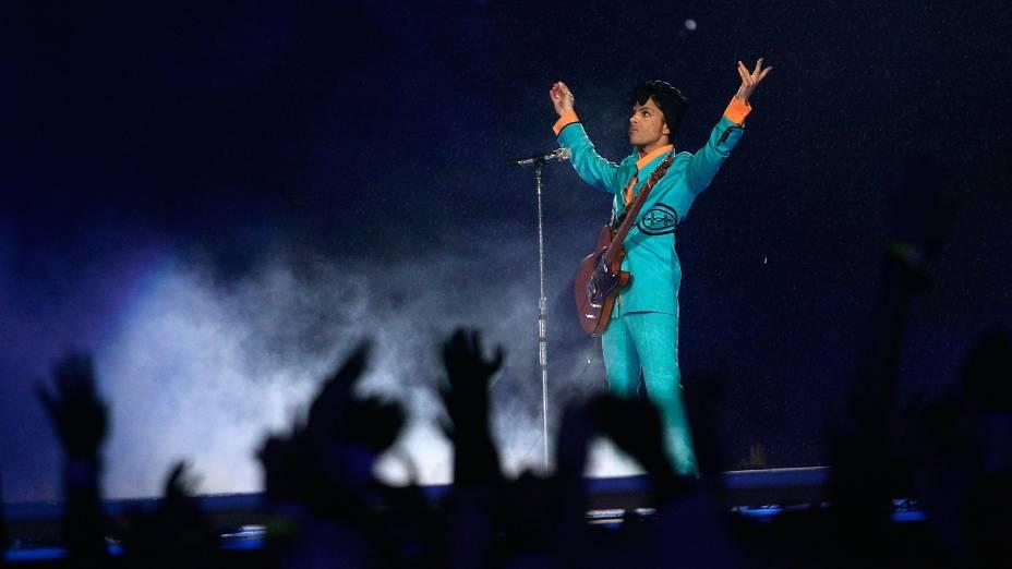 Prince: retorno depois de se apresentar no Brasil em 1991, no Rock in Rio