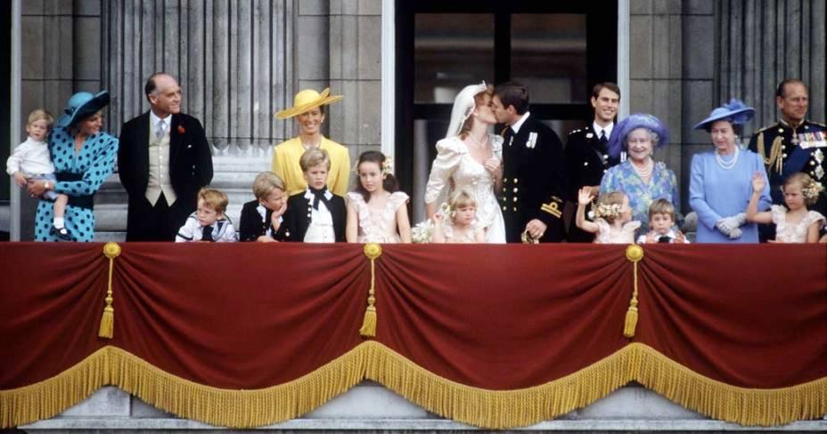 1986 - Príncipe Andrew e Sarah Ferguson
