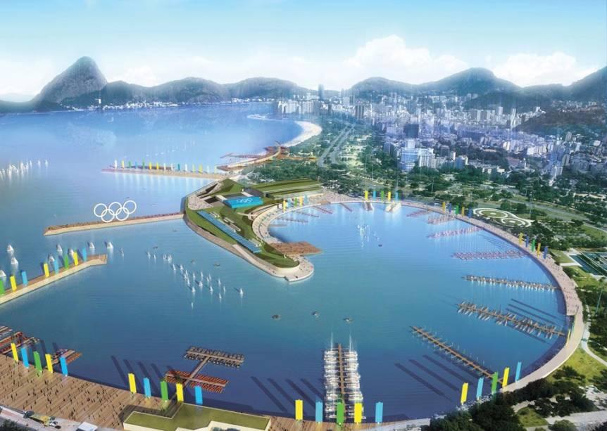 O projeto do Rio-2016: Marina da Glória, sede das provas de vela