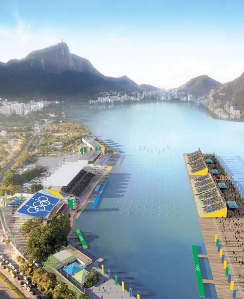 O projeto do Rio-2016: Lagoa Rodrigo de Freitas, sede das provas de remo