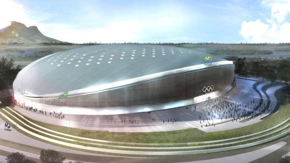 Projeto do Velódromo dos Jogos do Rio-2016