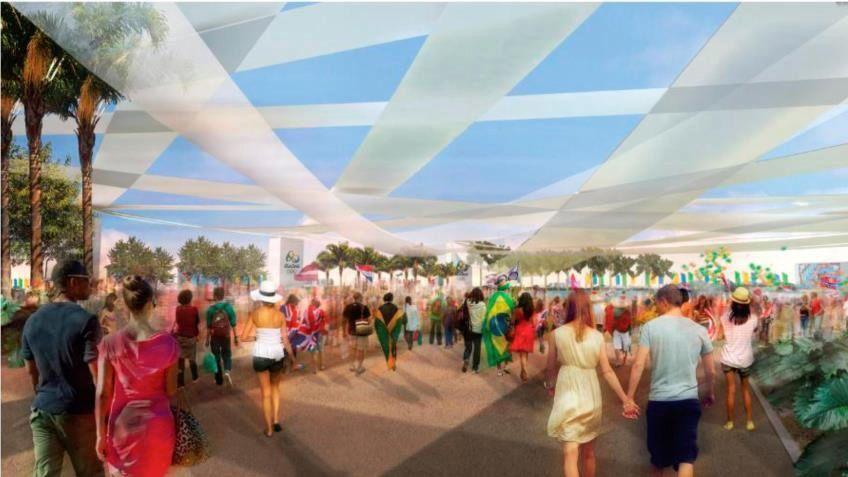 Projeto do Parque Olímpico dos Jogos do Rio-2016