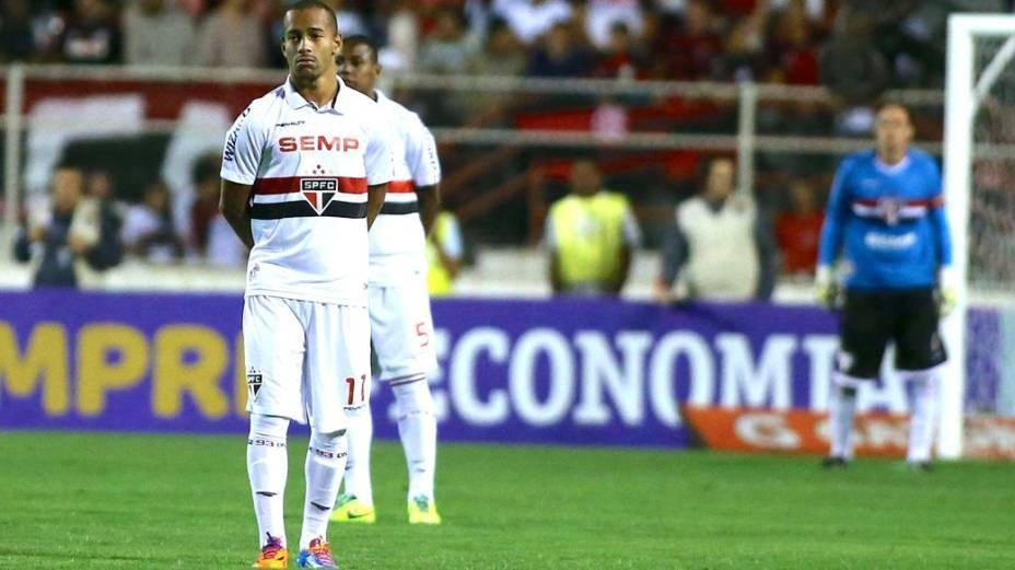 Protesto dos jogadores por mudanças no futebol brasileiro: São Paulo x Flamengo