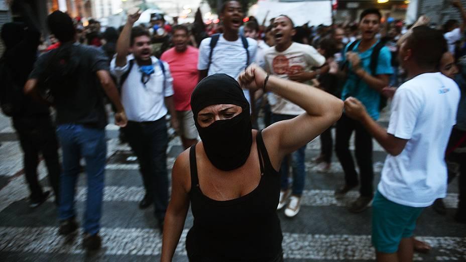 Protestos contra a Copa do Mundo em São Paulo