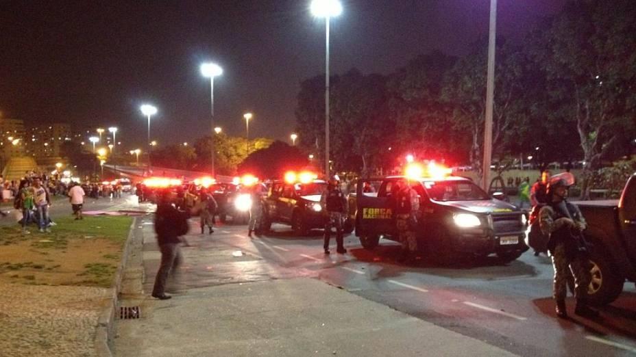 Protesto no Rio: Força Nacional de Segurança é acionada para conter vândalos
