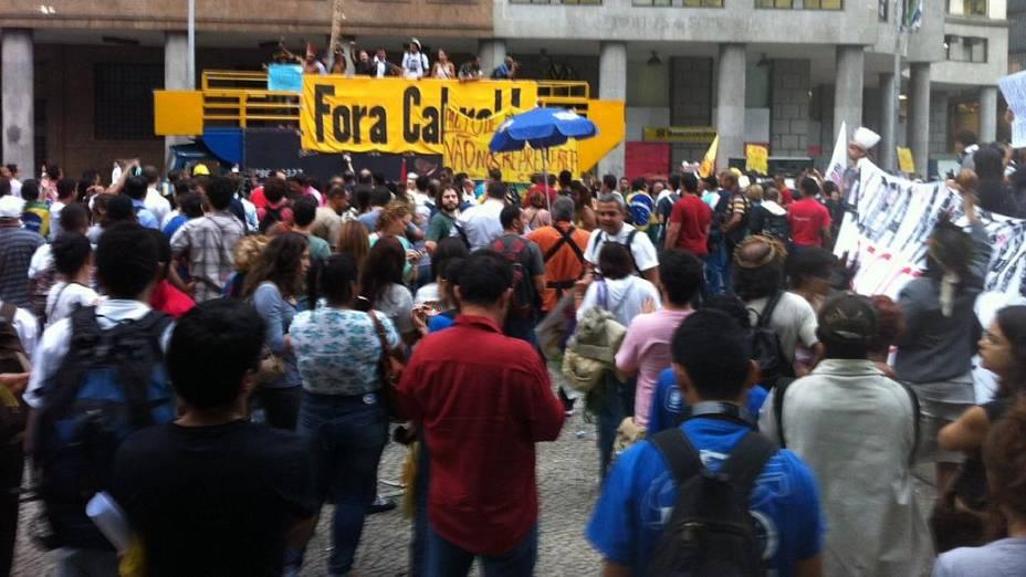 Protesto no Rio: manifestantes se concentram na Candelária para novo protesto nesta quinta (27/6)