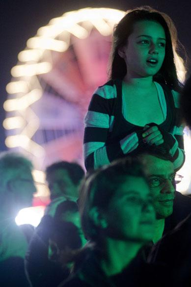 Público durante o show do Elton John no palco Mundo, no primeiro dia do Rock in Rio, em 23/09/2011
