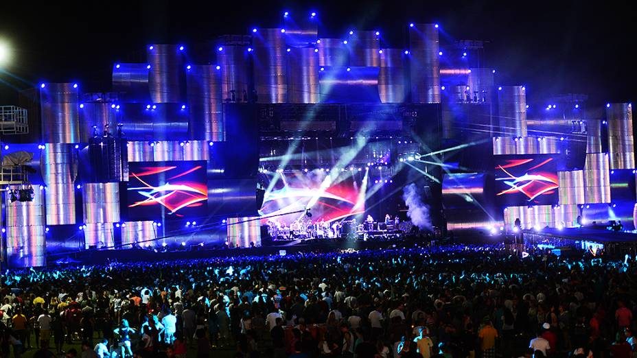 Palco Mundo, no Rock in Rio 2013