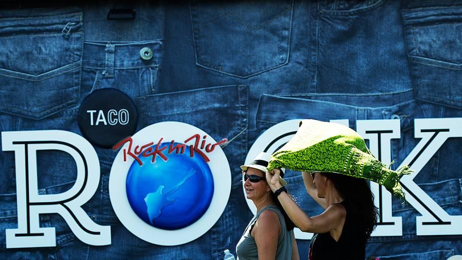 Público no sexto dia de Rock in Rio 2013