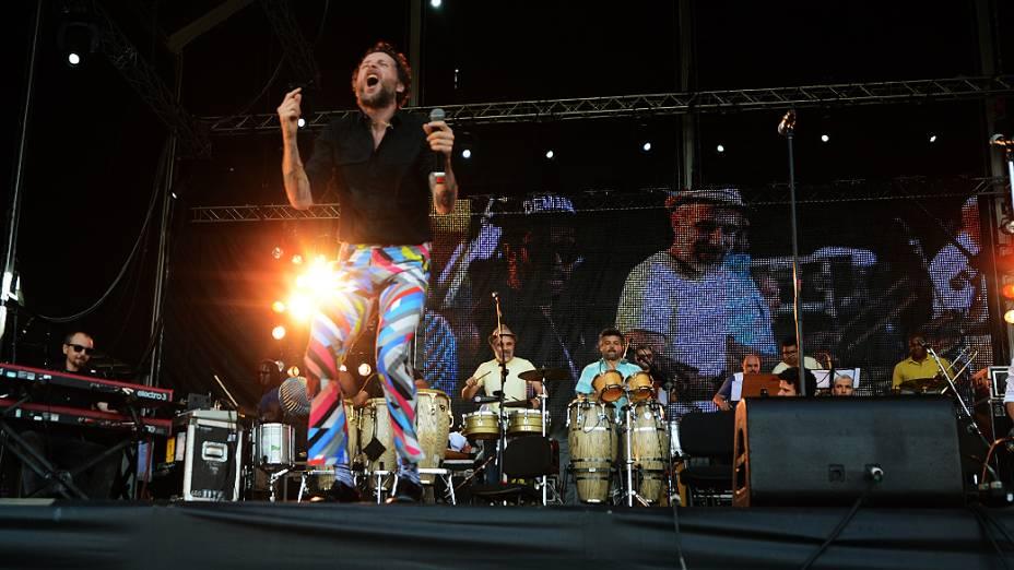 Show de Jovanotti e Orquestra Imperial, no Rock in Rio 2013