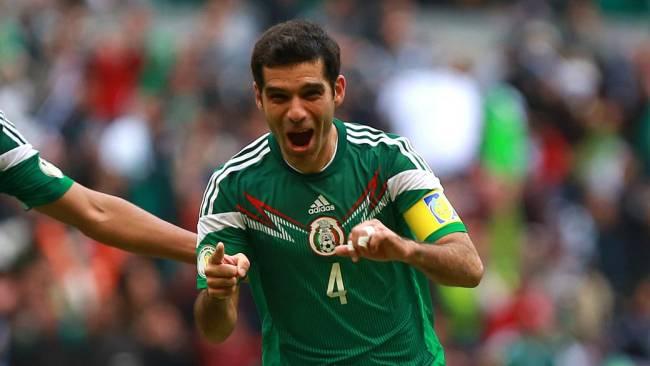 Rafa Marquez, do México, é um dos mais experientes do grupo