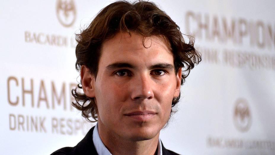 O tenista espanhol Rafael Nadal: fora do Austrália Open 2013