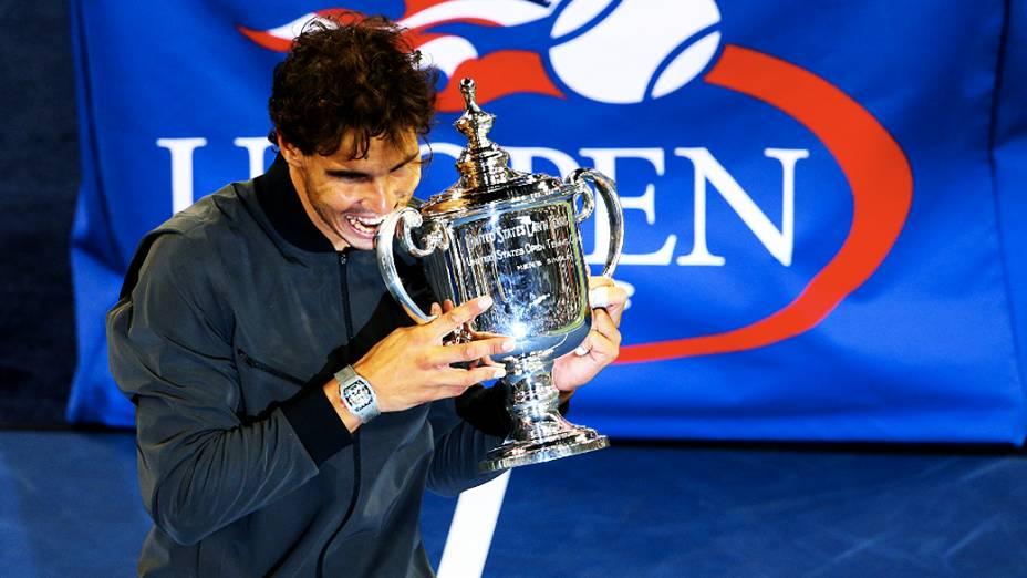 Rafael Nadal vence Djokovic na final do US Open, nesta segunda-feira (09)