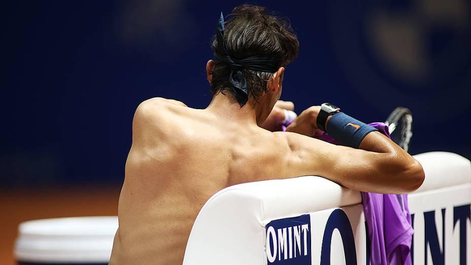 O espanhol Rafael Nadal é o grande destaque do torneio, em São Paulo
