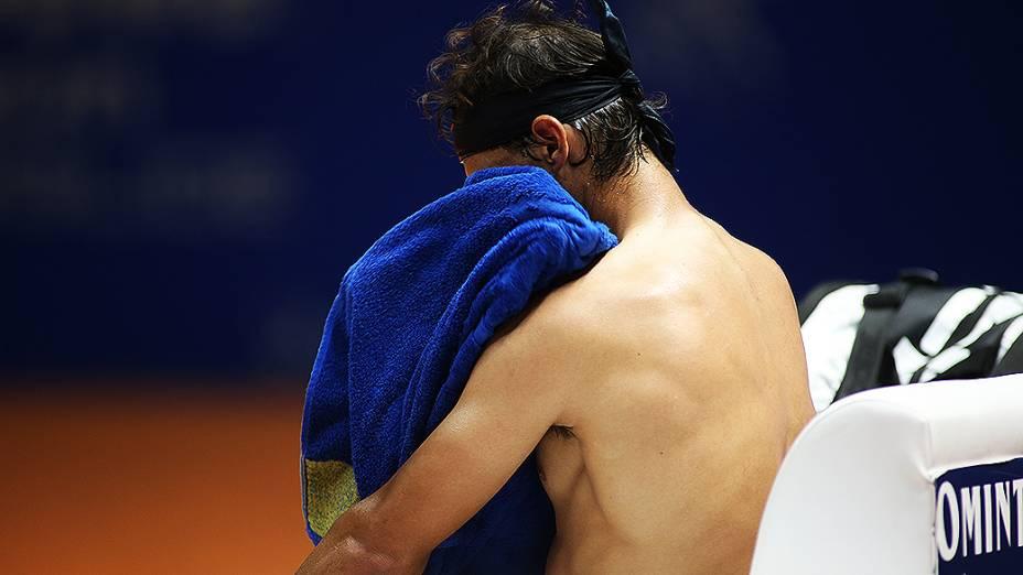 O espanhol Rafael Nadal é o grande destaque do torneio Brasil Open 2013, em São Paulo