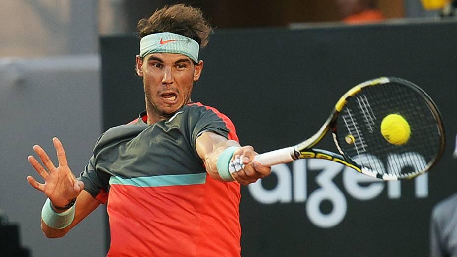 Rafael Nadal na final do Rio Open 2014