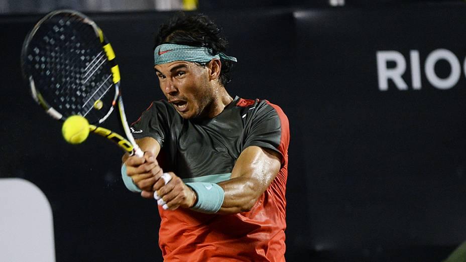 Rafael Nadal no Rio Open 2014, no Rio de Janeiro