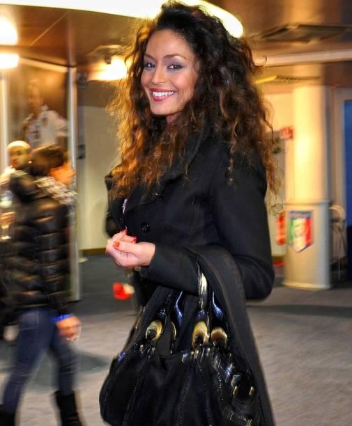 Raffaella Fico, ex-namorada do jogador Balotelli, da seleção italiana