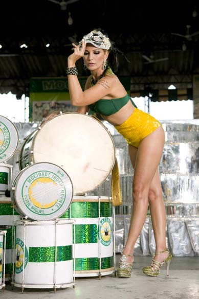 Antonia Fontenelle, rainha de bateria da Mocidade