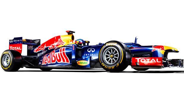 RB8, carro da Red Bull para temporada 2012