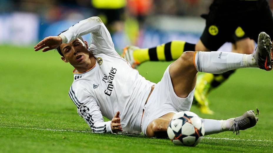 No segundo tempo, Cristiano Ronaldo saiu lesionado para a entrada de Casemiro