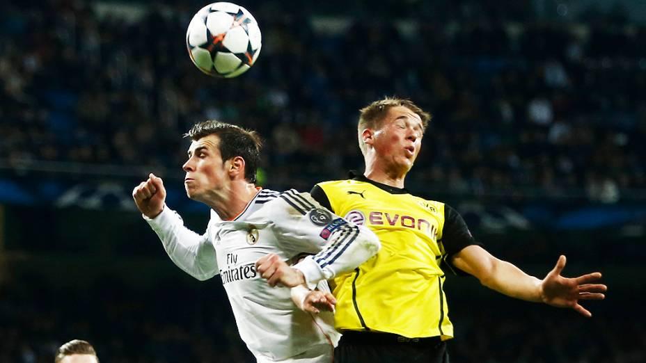 Bale, do Real Madrid, marcou o primeiro da vitória do time