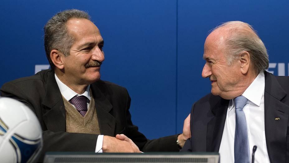 Ministro do Esporte foi a Suíça e se reuniu com dirigentes da Fifa