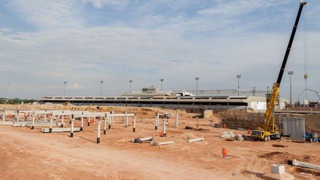 Reforma de aeroportos para a Copa do Mundo de 2014: em Manaus, a ampliação do terminal de passageiros é prometida para dezembro de 2013