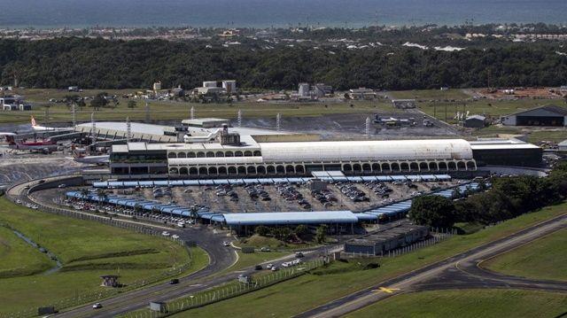 Reforma de aeroportos para a Copa do Mundo de 2014: em Salvador, o projeto para renovar o terminal de passageiros ainda está na fase de elaboração